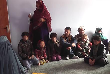 Hundreds of Shia Hazara Afghan families fled from two